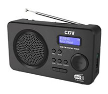 Radio numérique CGV DR5+ blanc