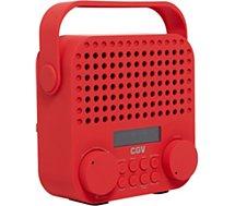 Radio numérique CGV  DR15+ rouge