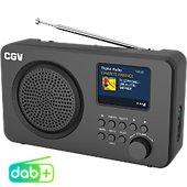 Radio numérique CGV DR6+ Noir