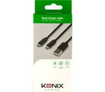 Câble de recharge Konix  Câble Double pour Manette Xbox One