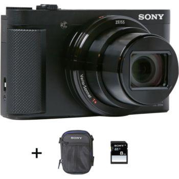 Sony DSC-HX80 + Etui + SD 8Go