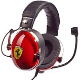 Casque gamer Thrustmaster  Casque T-Racing Scuderia Ferrari