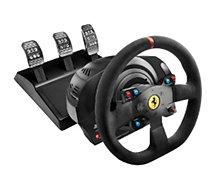 Volant + Pédalier Thrustmaster  T300 Ferrari Intégral Alcantara Edition