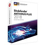 Logiciel antivirus et optimisation Bitdefender Antivirus Plus 2018  1 An 1 PC