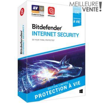 Bitdefender Internet Security A vie - 1 PC