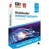 Logiciel antivirus et optimisation Bitdefender  Bitdefender Internet Security A vie 1 PC