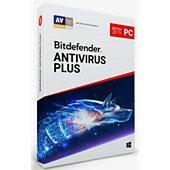 Logiciel antivirus et optimisation Bitdefender Antivirus Plus 2019 2 ans 3 PC
