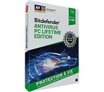 Logiciel antivirus et optimisation Bitdefender Antivirus 1 PC Lifetime Edition