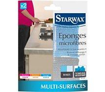 Eponge Starwax  EPONGES MICROFIBRES X2