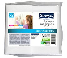 Eponge Starwax EPONGES MAGIQUES X2