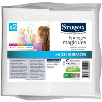 Starwax EPONGES MAGIQUES X2