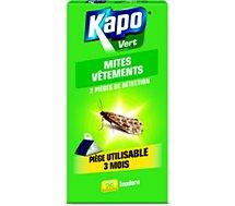 Antimites Kapo  pièges à mites etui de 2