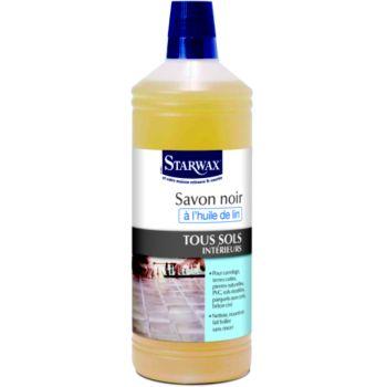 Starwax savon noir à l'huile de lin 1L