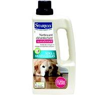 Nettoyant assainissant Starwax  desinfectant surodorant 1L