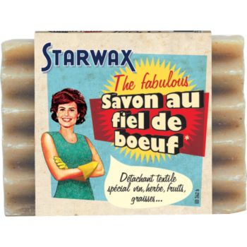 Starwax The Fabulous SAVON DETACHANT AU FIEL DE BOEUF 100GR