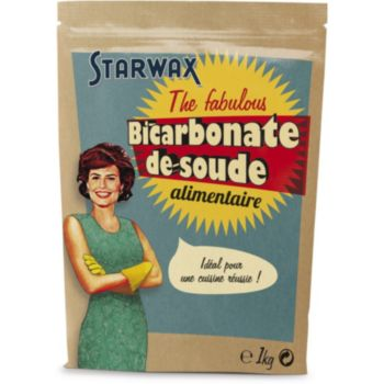 starwax the fabulous bicarbonate de soude alimentaire 1kg produit d 39 entretien menager boulanger. Black Bedroom Furniture Sets. Home Design Ideas