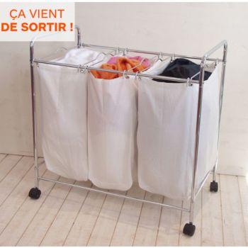 Compactor à linge 3 compartiments