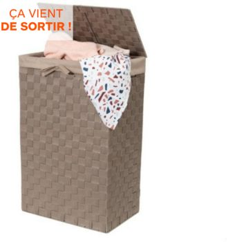 Compactor Rectangulaire pliable taupe