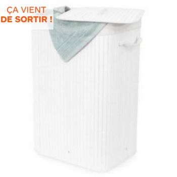 Compactor Rectangulaire pliable Bambou blanc