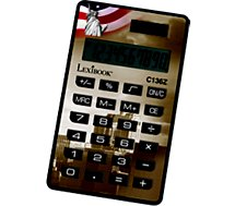 Calculatrice standard Lexibook  Calculatrice 10 chiffres Cities-Assortis