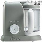 Mixeur Cuiseur Bébé Beaba 912461 BABYCOOK GREY