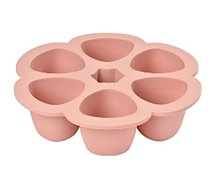 Multiportions Beaba  silicone 6 x150ml old pink