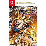 Jeu Switch Namco  Dragon Ball FighterZ Code à l'intérieur