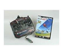 Jeu PC Ikarus  Aerofly RC7 Pro + Radiocommande