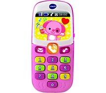 Jeu éducatif Vtech  Baby smartphone bilingue rose