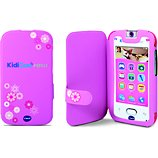 Etui enfant Vtech  de protection KidiCom Max Rose