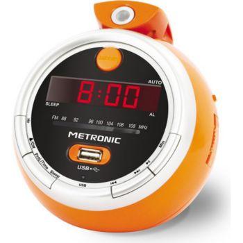 Metronic Radio réveil projection Juicy