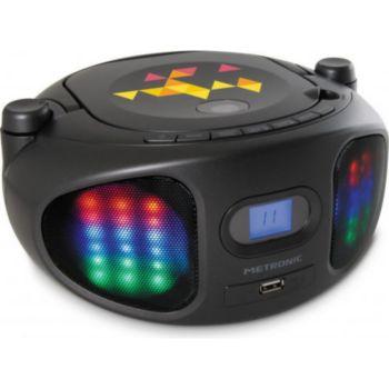 Metronic Radio CD-MP3 Lumi avec jeux de lumière