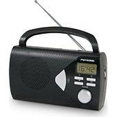 Metronic Radio portable noire