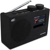 Metronic Radio numérique DAB+ et FM RDS avec écra