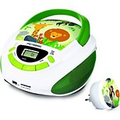 Radio CD Metronic Radio CD et veilleuse avec 2 USB style J