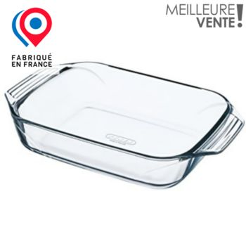 Pyrex rectangulaire 27x17 cm Irresistible