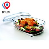Plat à four Pyrex rectangulaire 6.5L Essentials