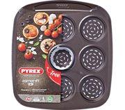 Pyrex 9 mini pizzas Asimetria + emporte pièce