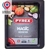 Plaque de cuisson Pyrex rect métal 30x23 cm Magic