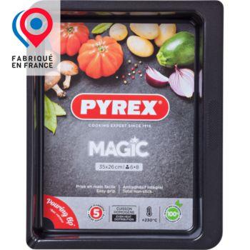 Pyrex rect métal 35x26 cm Magic