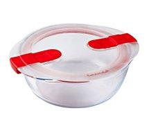 Boîte hermétique Pyrex  cook & heat rond 20x18 cm avec couv