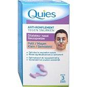 Ecarteur nasal anti-ronflement Quies Dilatateur Nasal Anti-Ronflement Quies