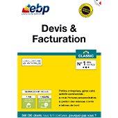 Logiciel de gestion EBP Devis & Facturation Classic  + VIP