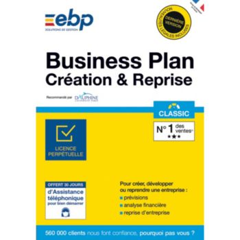EBP Business Plan Création & Reprise Classic