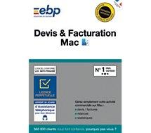Logiciel de gestion EBP  Devis et Facturation MAC