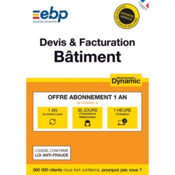 EBP Devis et Facturation Batiment DYNAMIC