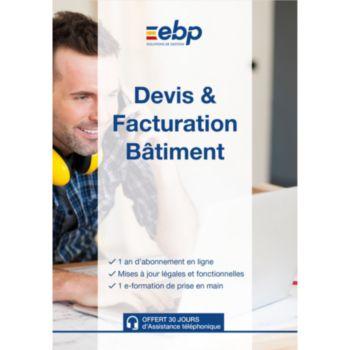 EBP Devis et Facturation Batim SAAS12M