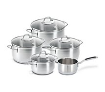 Batterie de cuisine Beka  5 pieces inox royal
