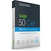 Logiciel de gestion Ciel Sage 50 CIEL BATIMENT devis-facture 30jr