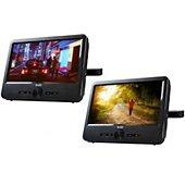 Lecteur DVD portable double écran D-Jix PVS 706-70DP TWIN Double Player